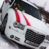 Авто на свадьбу Донецк белый Chrysler 300C