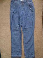 Бриджи джинсы140-150рост.