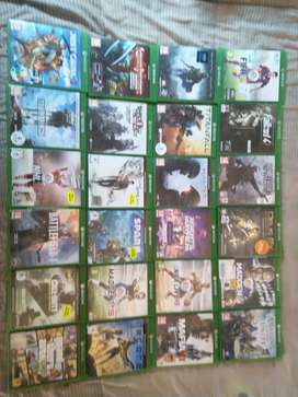 Xbox one games, All available selling bundle or single