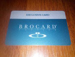 """Скидочная карта """"BROCARD"""" -20%."""