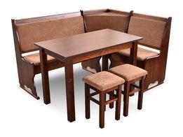 Meble zestaw Narożnik ława narożna stolik stół taborety rogówka kuchni