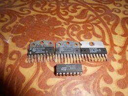 Микросхемы с разборки ( TEA1039, TEA2165, SDA555, TMP, TDA, PCA и др.