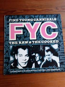 Fine Young Cannibals – The Raw And The Cooked Vinyl LP