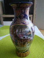 Wyprzedaż!!! Ręcznie zdobiony wazon pamiątka z Japonii