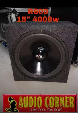 "Ice Power Sub 15"" 4000w"
