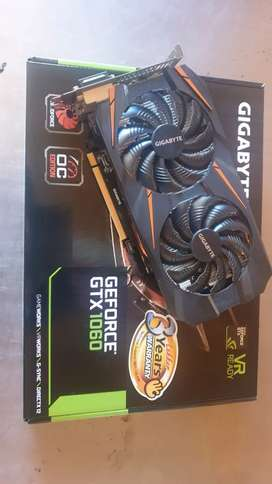 Gigabyte GTX1060 3GB windforce OC