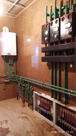 Монтаж систем опалення, водопостачання, водовідведення, заміна стояків Винница - изображение 1