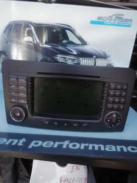 Mercedes-benz ML 63 AMG facelift radio available