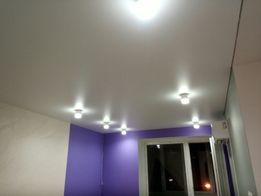 Натяжной потолок, ремонт, стройка