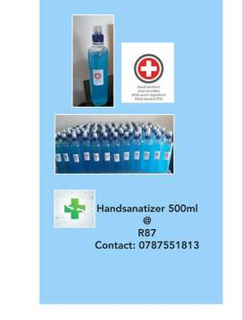 Sanitizer's available for sale