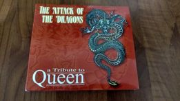 CD диск рок Tribute to QUEEN The attack of the dragon