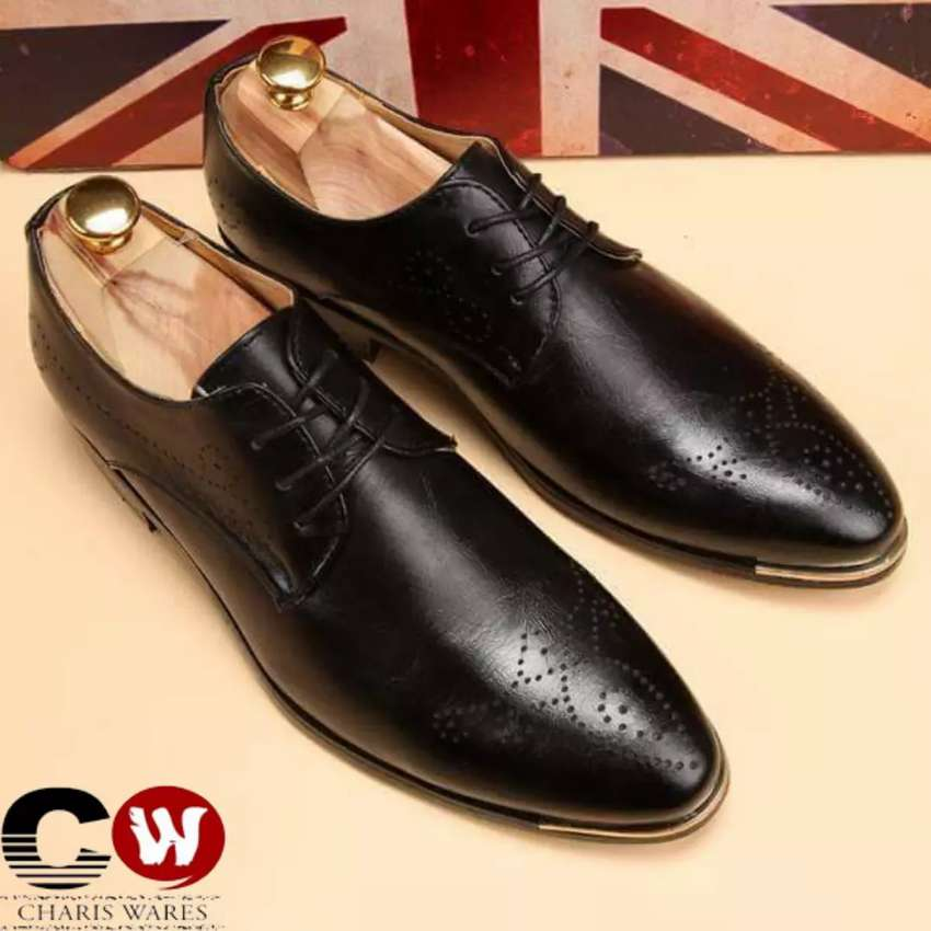 Foreign Oxford Pointed Italian shoe 0