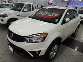 2016 Ssangyong korando 2.0 Mt with 54000 km