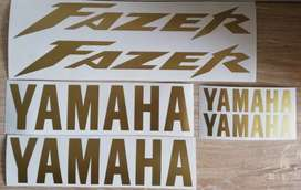 2001 Fazer 600 decals stickers graphics kits