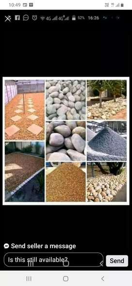 DELIVERY GARDEN STONES AND INSTALL.PAVING AND ARTIFICIAL GRASS INSTALL