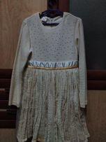 Красивое платье на 110-122 см