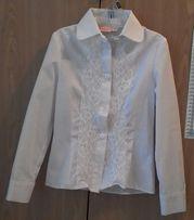 Блуза белая (рост 122)