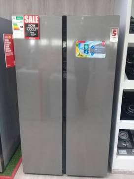 Defy side by side,Frost free Fridge.