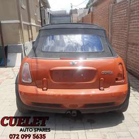 Mini Cooper Stripping For Parts