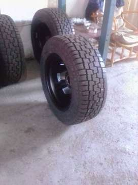 265 x 60 x 18 Scorpion All Terrain Tyres and Rims For Sale