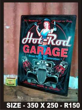 Reproducted Metal Signs
