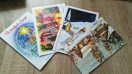 Kartki świąteczne 31 szt