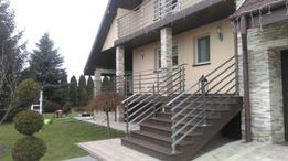 Balustrady nierdzewne, barierki balkonowe