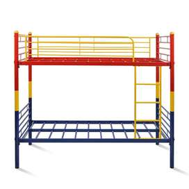 Multi-colour Steel Bunk Bed