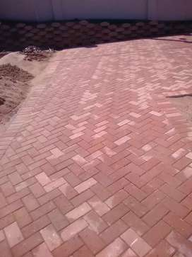 Paving and retaining walls