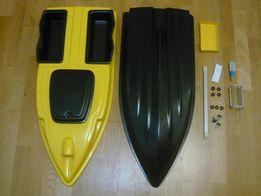 Корпус кораблик - 800мм прикормочный для завоза прикормки снастей