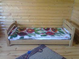 ліжко дубове півтора спальне