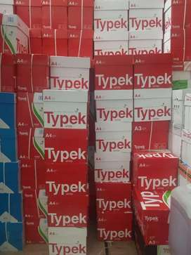 A4 copy papers typek and rotatrim