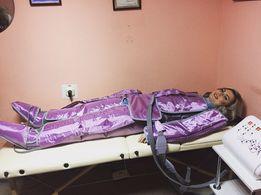 Лимфодренажный массаж Прессотерапия Антицеллюлитный массаж Аппаратный