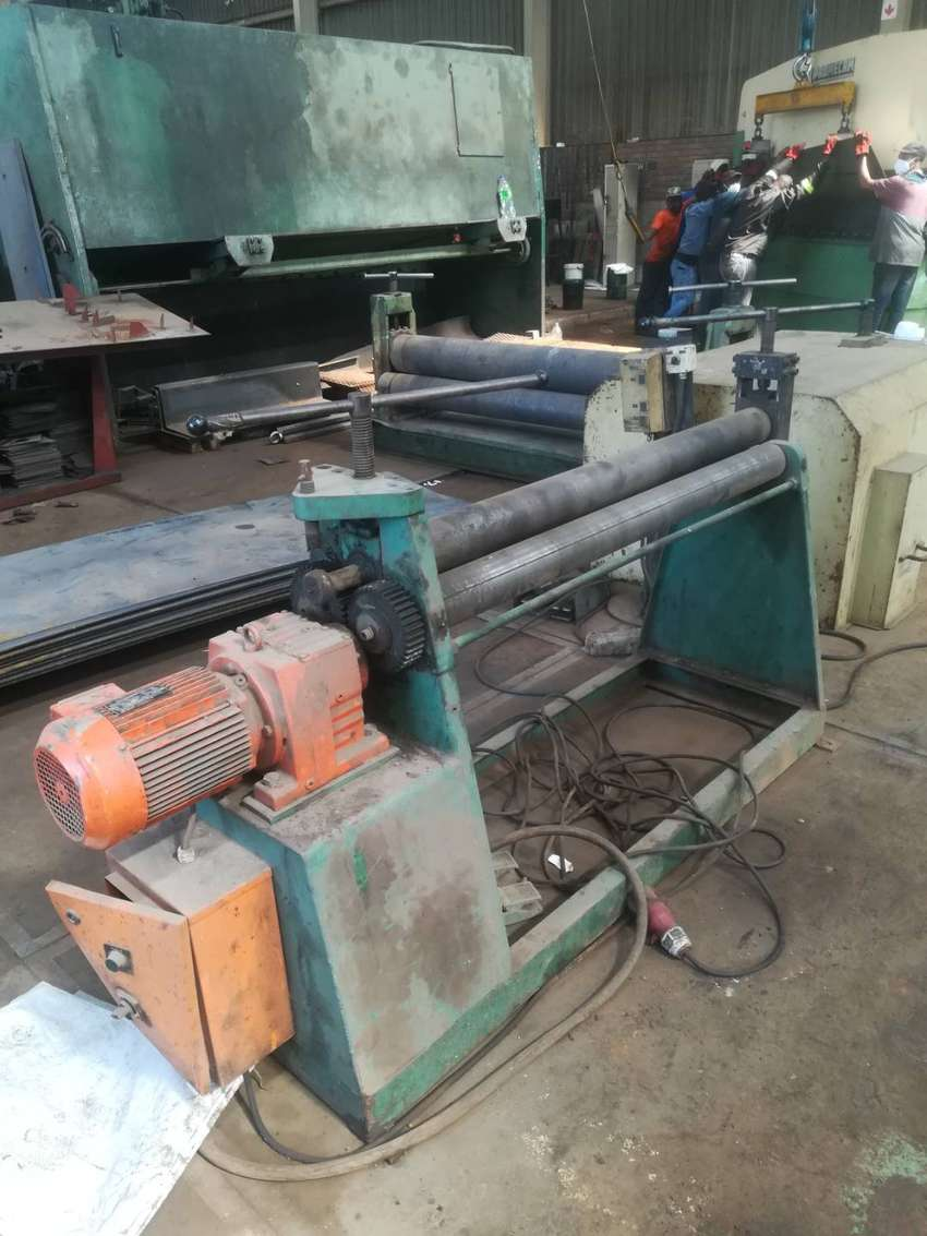 Plate Roller 3 x 1225 for sale