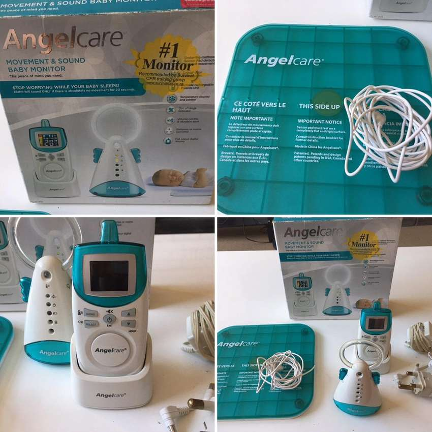 Angelcare monitors with sensor pads 0