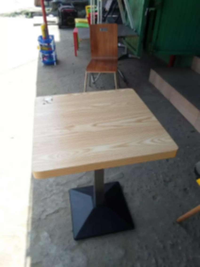 Wooden Restaurant Table 0
