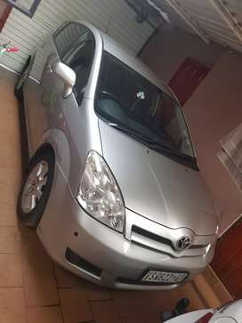 I'm saling Toyota Corolla veeso nice and good condition