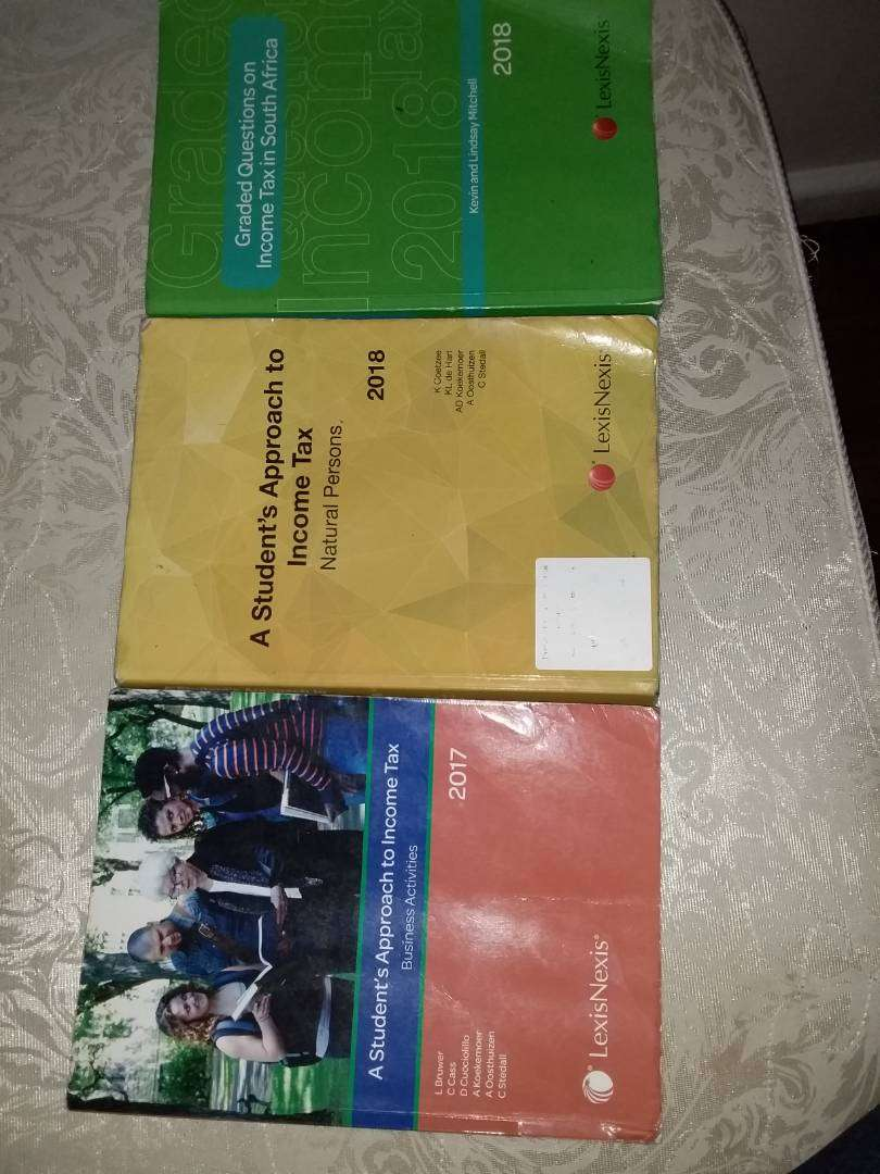 Unisa text books for tax 0