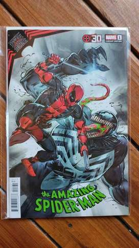 Amazing Spiderman king in black 1 variant edition brand new