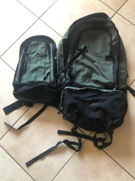 K-way 75L backpack and daypack