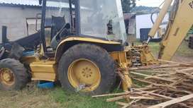 Stripping Cat 420D Tlb for spares