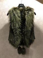 Меховая жилетка (натуральная, новая)