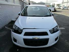 Chevrolet sonic 2014 model automatic breaking up for spares