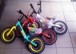 Rowerki biegowe dla dzieci koła 12'- Nowe