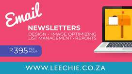 Email Newsletter/Mailer Creation
