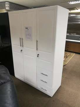 3 door exotic wardrobe in super wood
