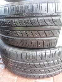 Image of 2xGeostar Radial NST tyres,As new!!235/60/16
