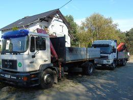 Usługi transportowe HDS -Wywrotka {materiały budowlane , kontenery}