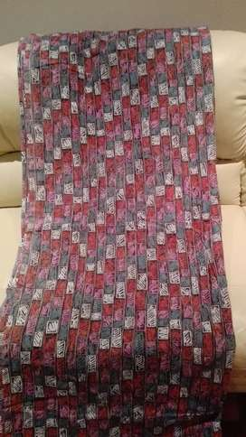 Designer  curtains, abstract print