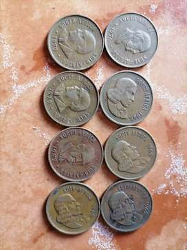 I'm selling S.A old coins or swap with smart phones